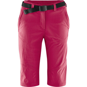 Maier Sports Lawa Bermuda long Femme, persian red